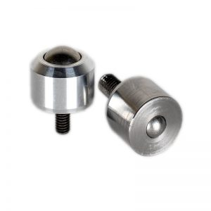Solid ball caster MINI without collar