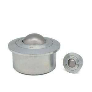 Solid ball caster - ball units with collar - Air cargo units