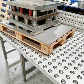 Kugelrollentisch im Einsatz bei einem Kunden