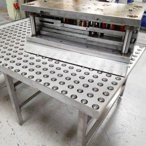 Kugelrollentisch bei einem Kunden