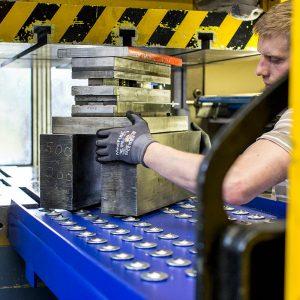 Kugelrollentisch Produktion